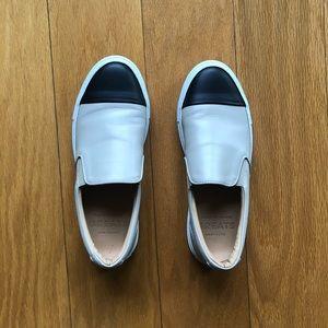 GREATS Wooster Cap Toe Slip-on Sneakers Sz 9.5
